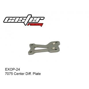 EXOP-24  7075 Center Diff. Plate