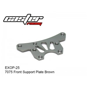 EXOP-25  7075 Front Support Plate Brown
