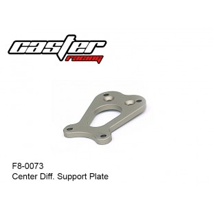 F8-0073  Center Diff. Support Plate