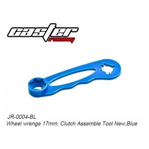 JR-0004-BL  Wheel wrenge 17mm, Clutch Assemble Tool New,Blue