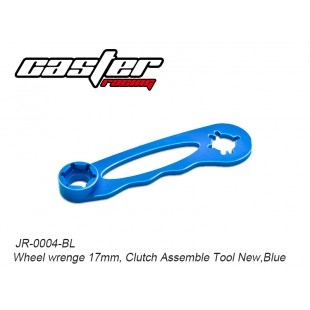JR-0004-BL  Wheel wrenge 17mm, Clutch Assemble Tool New,Blue