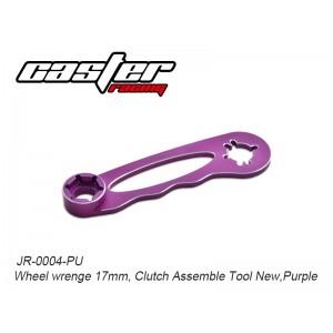 JR-0004-PU  Wheel wrenge 17mm, Clutch Assemble Tool New,Purple