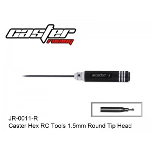 JR-0011-R  Caster Hex RC Tools 1.5mm Round Tip Head