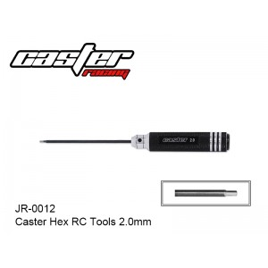 JR-0012  Caster Hex RC Tools 2.0mm