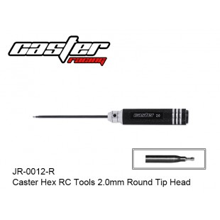 JR-0012-R  Caster Hex RC Tools 2.0mm Round Tip Head