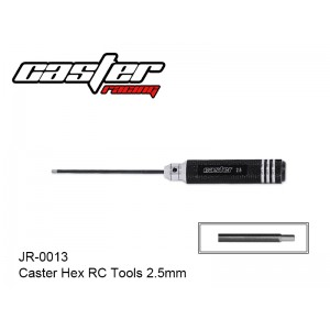 JR-0013  Caster Hex RC Tools 2.5mm
