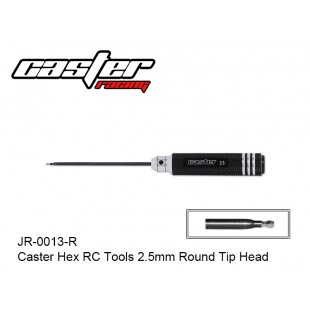 JR-0013-R  Caster Hex RC Tools 2.5mm Round Tip Head