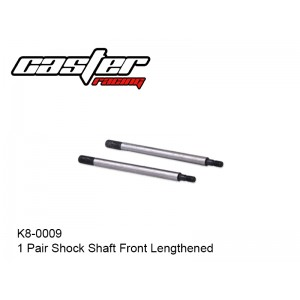 K8-0009  1 Pair Shock Shaft Front Lengthened