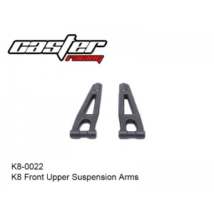 K8-0022  K8 Front Upper Suspension Arms