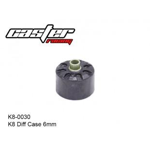 K8-0030  K8 Diff Case 6mm