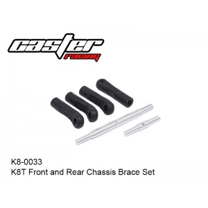 K8-0033  K8T Front and Rear Chassis Brace Set