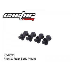 K8-0038  Front & Rear Body Mount
