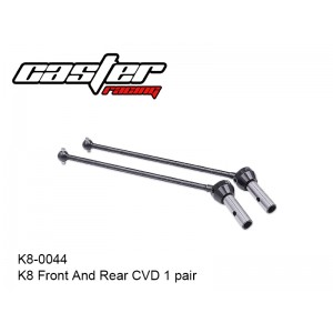 K8-0044  K8 Front And Rear CVD 1 pair