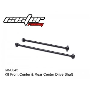 K8-0045   K8 Front Center & Rear Center Drive Shaft