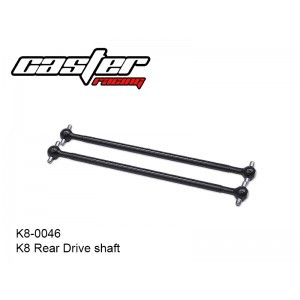 K8-0046  K8 Rear Drive shaft