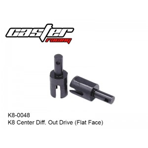 K8-0048  K8 Center Diff. Out Drive (Flat Face)