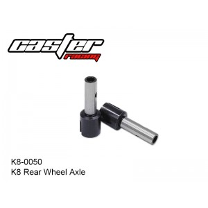 K8-0050  K8 Rear Wheel Axle