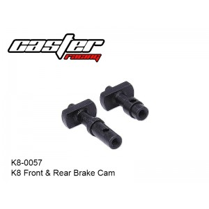 K8-0057  K8 Front & Rear Brake Cam