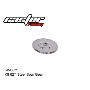 K8-0059  K8 62T Steel Spur Gear