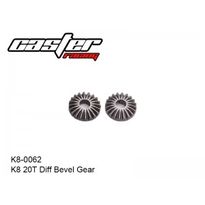 K8-0062  K8 20T Diff Bevel Gear