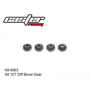 K8-0063  K8 10T Diff Bevel Gear