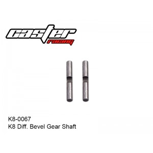 K8-0067  K8 Diff. Bevel Gear Shaft