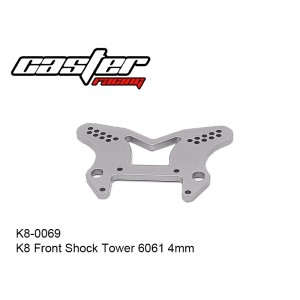 K8-0069  K8 Front Shock Tower 6061 4mm