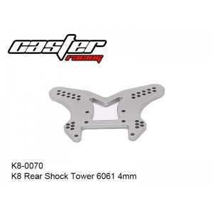 K8-0070  K8 Rear Shock Tower 6061 4mm