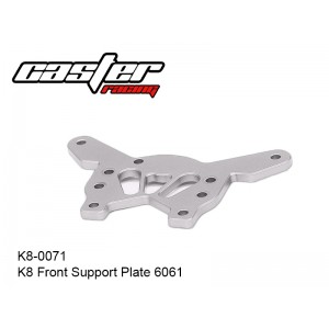 K8-0071  K8 Front Support Plate 6061