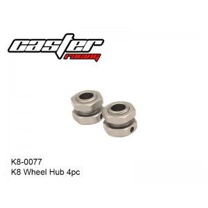 K8-0077  K8 Wheel Hub 4pc