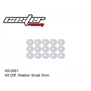 K8-0081  K8 Diff. Washer Small 3mm