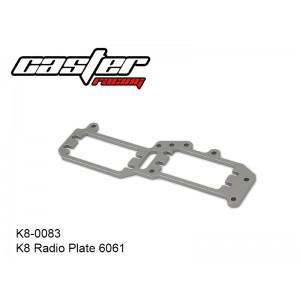 K8-0083  K8 Radio Plate 6061