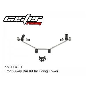 K8-0094-01  K8  Front Sway Bar Kit Including Tower