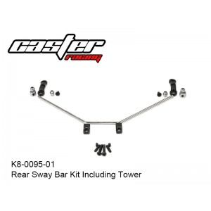 K8-0095-01   K8 Rear Sway Bar Kit Including Tower