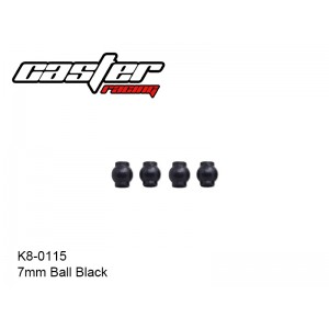 K8-0115  7mm Ball Black