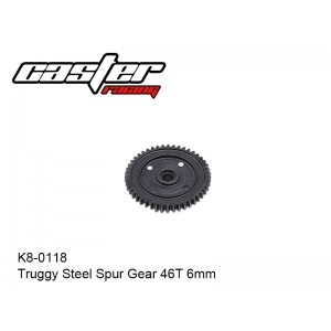 K8-0118  Truggy Steel Spur Gear 46T 6mm