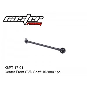 K8PT-17-01  Center Front CVD Shaft 102mm 1pc