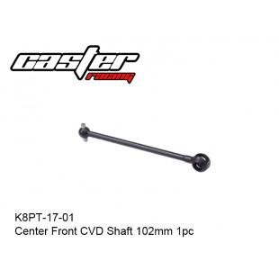K8PT-17-01  Center Front CVD Shaft 102mm 1pc