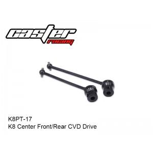 K8PT-17  K8 Center Front/Rear CVD Drive