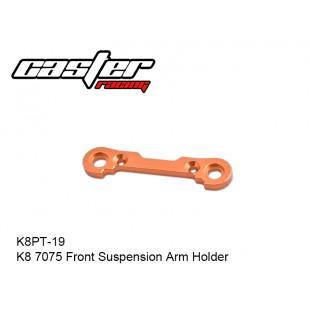 K8PT-19  K8 7075 Front Suspension Arm Holder