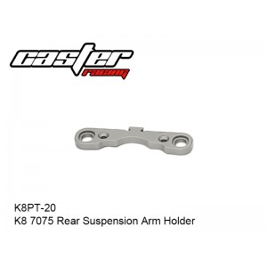 K8PT-20  K8 7075 Rear Suspension Arm Holder