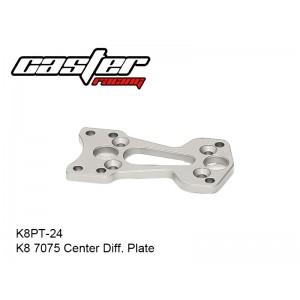 K8PT-24  K8 7075 Center Diff. Plate