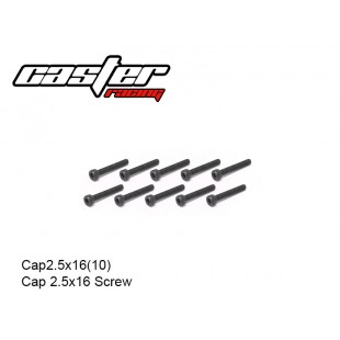 Cap2.5x16(10)  Cap 2.5x16 Screw