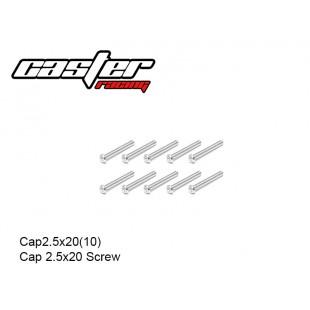 Cap2.5x20(10)  Cap 2.5x20 Screw
