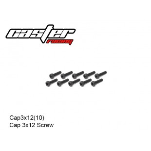 Cap3x12(10)  Cap 3x12 Screw