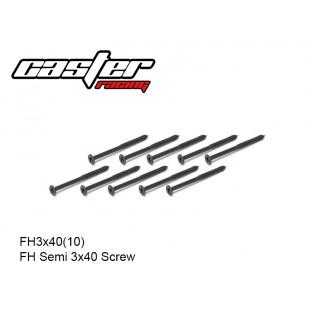 FH3x40(10)  FH Semi 3x40 Screw