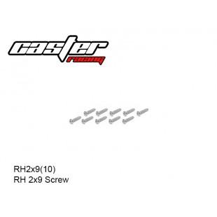 RH2x9(10)  RH 2x9 Screw