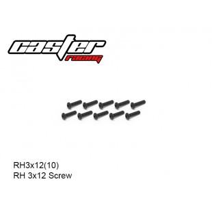 RH3x12(10)  RH 3x12 Screw