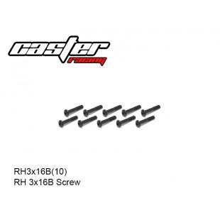 RH3x16B(10)  Semi RH 3x16 Screw