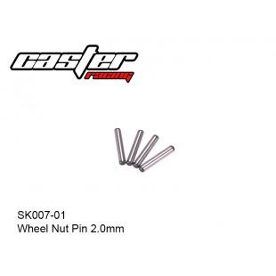 SK007-01 Wheel Nut Pin 2.0mm